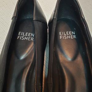 Eileen Fisher Shoes - Eileen Fisher grosgrain leather ballet flats 7